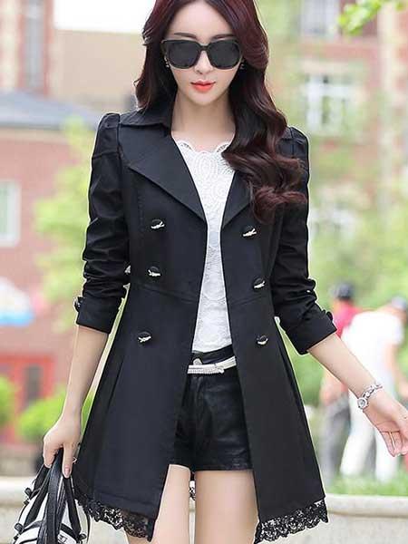 Inspirasi blazer wanita - dressblazer hitam