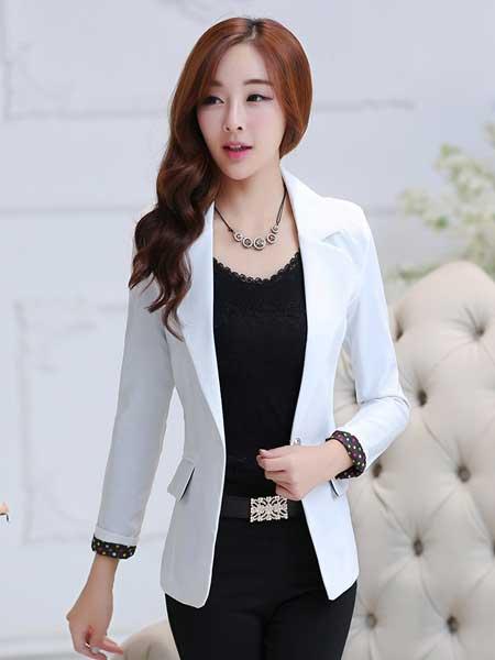 Inspirasi blazer wanita - plain formal blazer