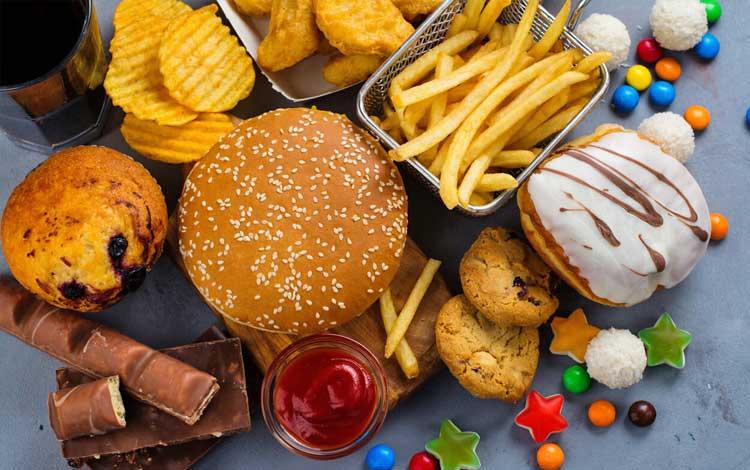 Makanan yang perlu dihindari jika berjerawat - Fast food, gorengan