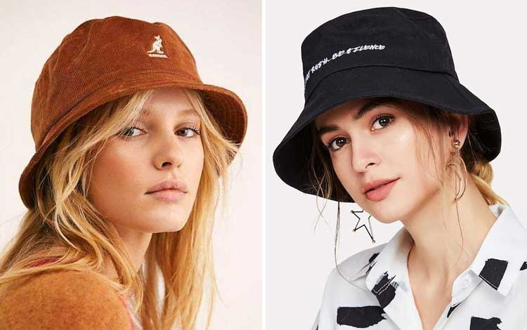 Aksesoris wanita - Bucket Hat