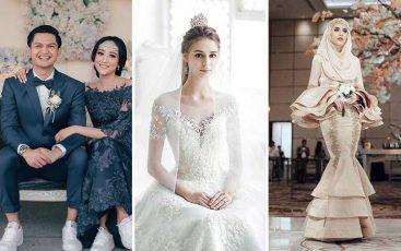 Inspirasi baju pengantin modern