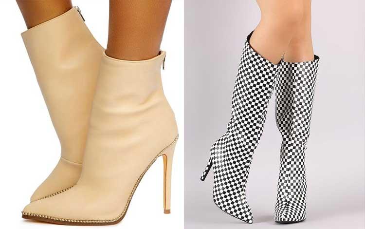 Aksesoris wanita - Pointy Boots