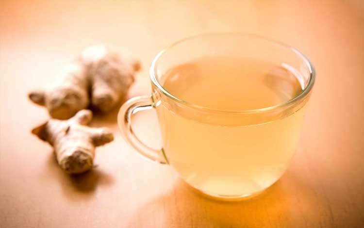 Teh Jahe atau Ginger Tea bagus untuk kesehatan dan kecantikan