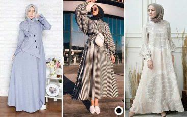 Aneka Model Baju Gamis Modern dan Kekinian