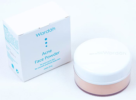 Bedak Wardah Acne Face Powder