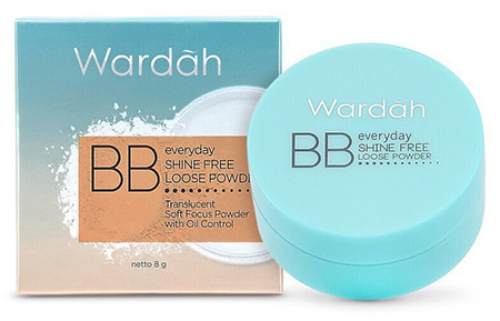 Bedak Wardah Everyday Shine Free BB Loose Powder