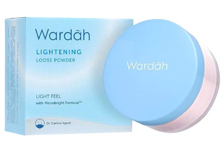 Bedak Wardah Lightening Loose Powder