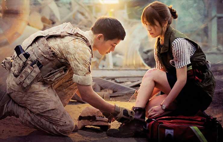 Drama Korea terbaik - Descendant of The Sun