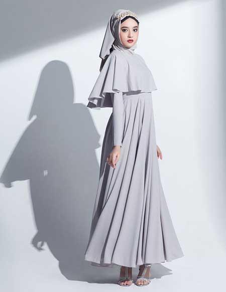 Gamis model cape dress