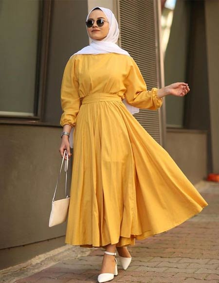 40 Model Baju Gamis Modern Dan Kekinian Update Hai Gadis