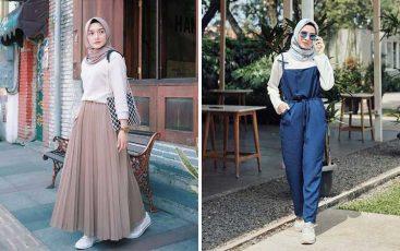 OOTD hijab terbaik, simple dan mudah