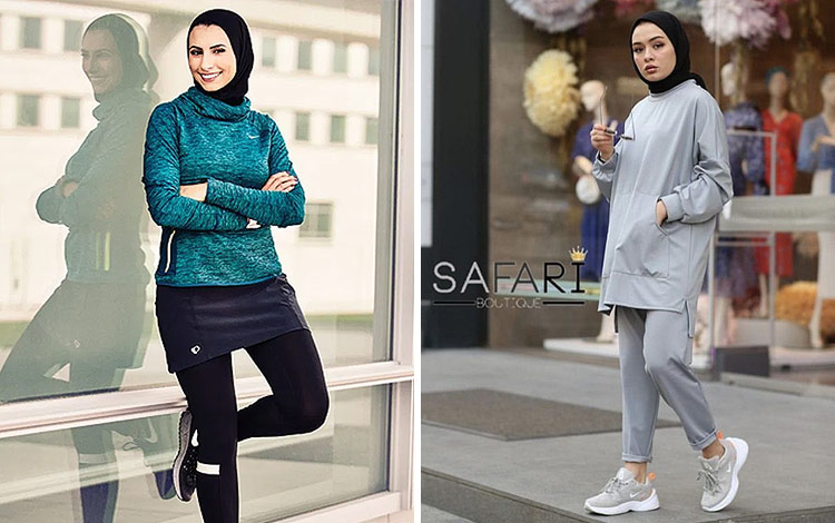 Inspirasi Outfit Olahraga Untuk Para Hijaber