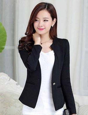 Fashion item wanita - Blazer Hitam Wanita