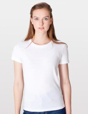 T-Shirt Wanita Putih Polos