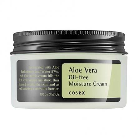 Pelembab wajah untuk kulit berminyak - Aloe Vera Oil-free Moisture Cream COSRX