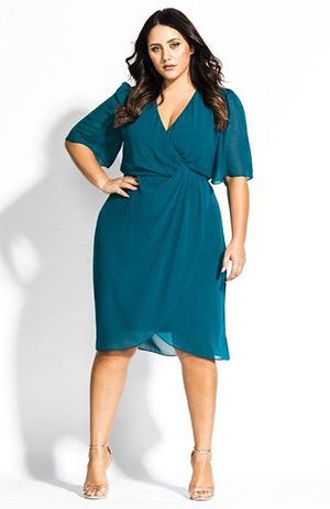 Model baju untuk wanita gemuk