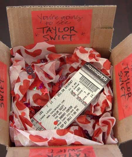 Hadiah valentine tiket konser