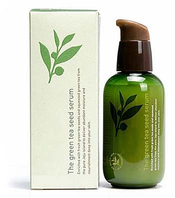 Serum untuk kulit berjerawat - Innisfree The Green Tea Seed Serum