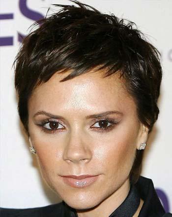 Model rambut pixie cut untuk wajah segitiga