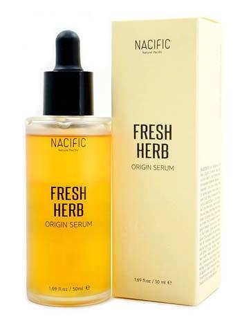 Serum untuk kulit berjerawat - Nacific Fresh Herb Origin Serum