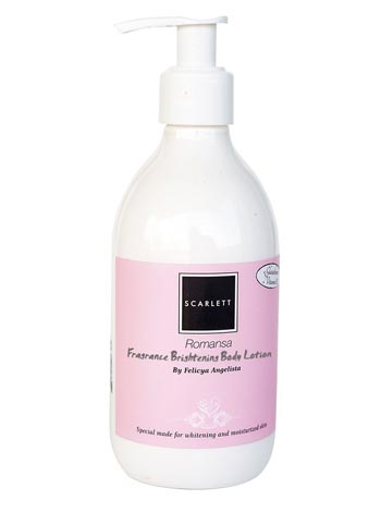 Body lotion untuk memutihkan kulit - Scarlett Fragrance Brightening Body Lotion