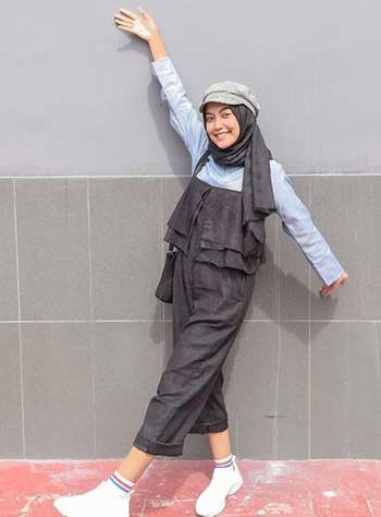 Style hijab casual