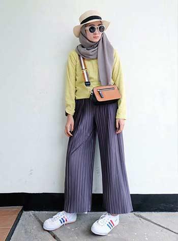 14 Inspirasi Style Hijab Casual Untuk Outfit Sehari Hari Hai Gadis
