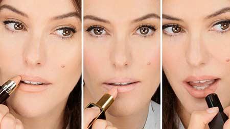Tips make up natural - gunakan lipstik warna nude