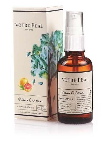 Serum untuk kulit berjerawat - Votre Peau Vitamin C Serum