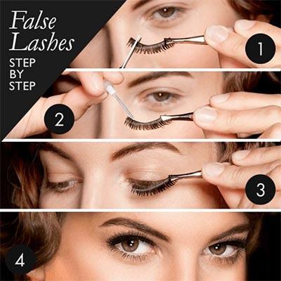 Tips make up wisuda - Gunakan bulu mata palsu