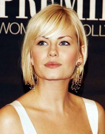 model potongan rambut wanita bob lurus pendek