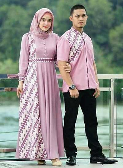 20 Inspirasi Baju Couple Muslim Yang Serasi Abis Hai Gadis