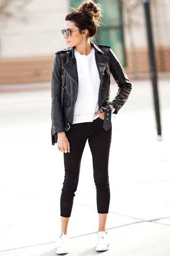 15 Inspirasi Outfit Dengan Kaos Putih Yang Stylish Buat Para Wanita Hai Gadis