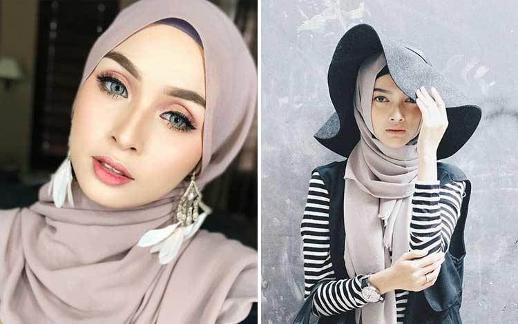 Aksesoris hijab kekinian