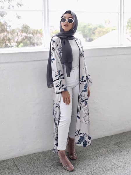 Outer panjang hijab