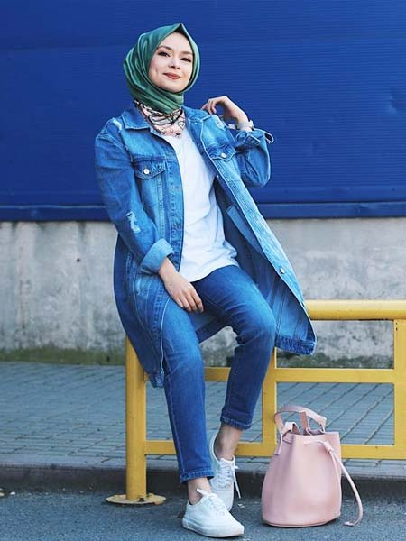 Outer hijab jaket