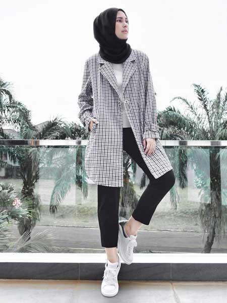Outer hijab blazer
