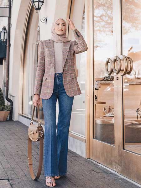 """Blazer hijab luar """"width ="""" 450 """"height ="""" 600"""