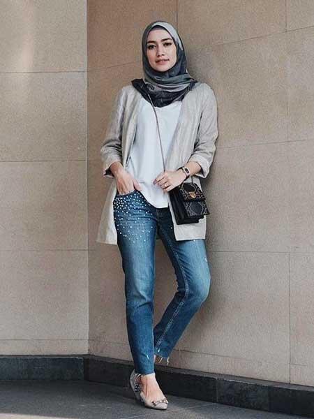 Outer hijab cardingan