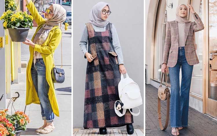 Outer hijab kekinian
