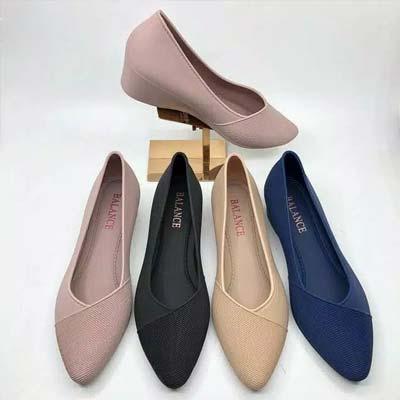 Sepatu jelly wedges
