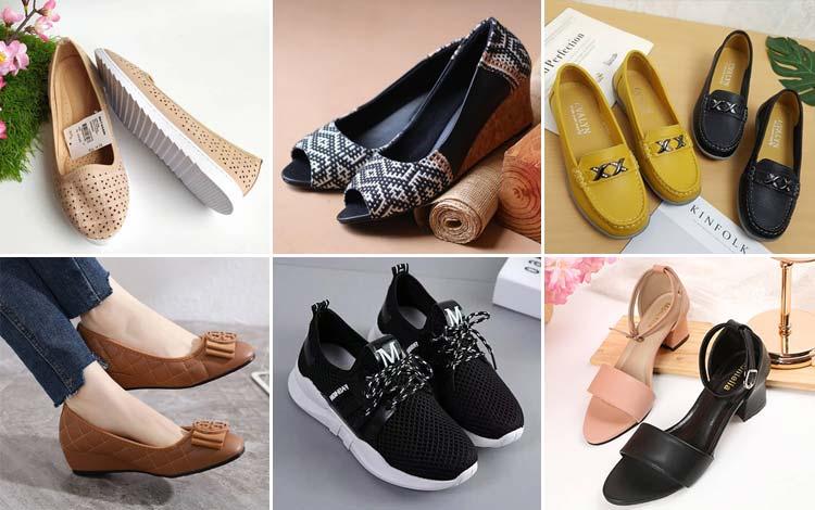 42 Model Sepatu Wanita Terbaru Yang Dijual Online Beserta Harga