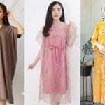 25 Inspirasi Dress Wanita Terbaru dan Murah di Bawah 150 Ribu