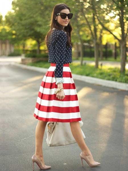 Mix and match outfit wanita