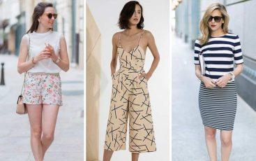 Campur dan Sesuaikan Motif untuk Pakaian Kasual Wanita