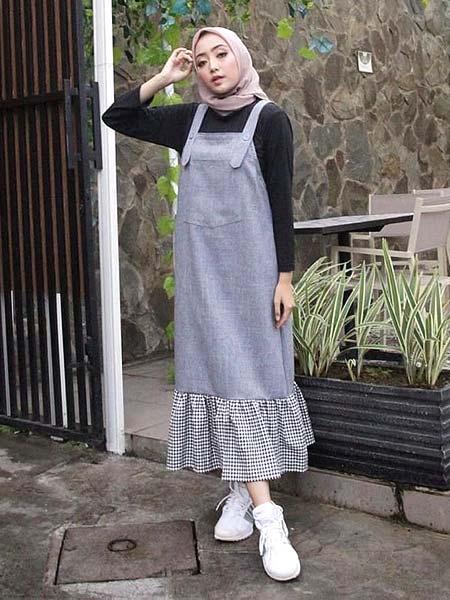 Overall hijab