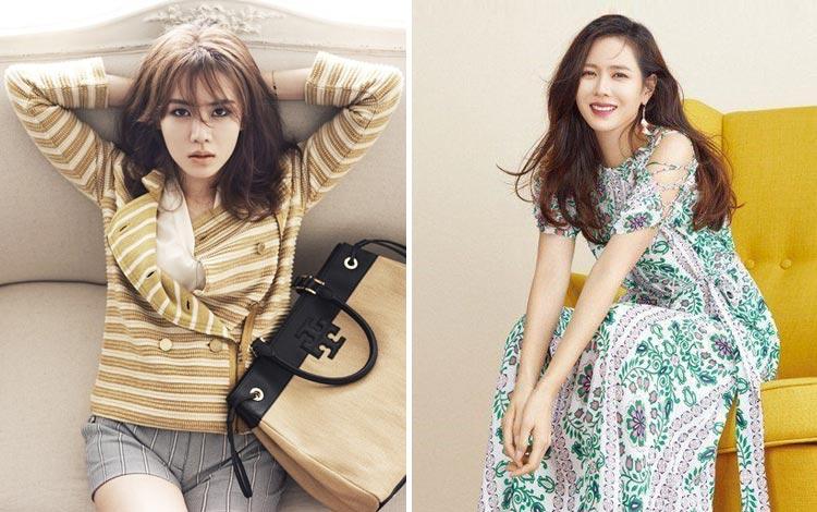 Menjadi Wanita Tercantik 2020 Versi Starmometer, Yuk Simak Fashion Style Ala Son Ye Jin Berikut Ini