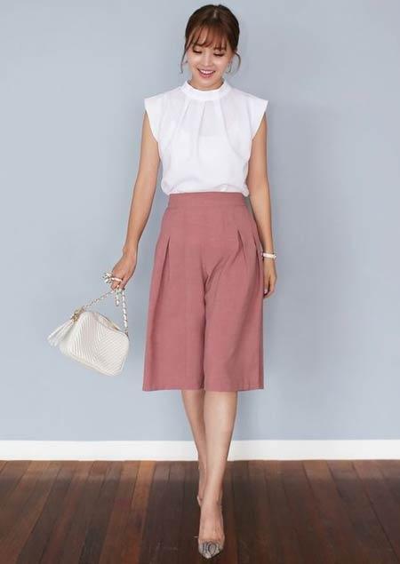 Tips fashion wanita pendek agar terlihat tinggi