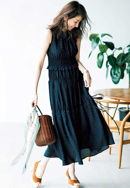 Outfit long dress