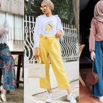 20 OOTD Celana Kulot Kekinian Yang Simple Dan Trendi Untuk Para Hijaber
